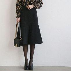 NANING9 - Midi Flare Skirt