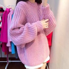 FR - Batwing Cable Knit Top