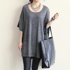 NANING9 - Oversized Short-Sleeve T-Shirt