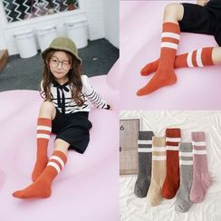 Cloud Femme - Kids Long Socks