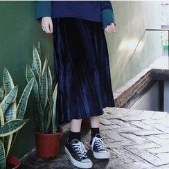 Shelby - Pleated Midi Skirt