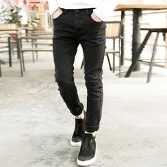 Mannmix - Ripped Slim-Fit Jeans