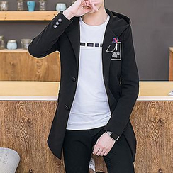 DTT - Long Hooded Jacket