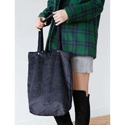 FROMBEGINNING - Corduroy Shopper Bag