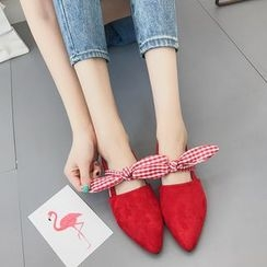 Sofree - Bow Pointed Flats