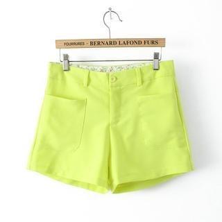 Flower Idea - Pocket Chiffon Shorts