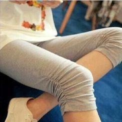 ENZA - Plain Cropped Leggings