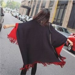 ENZA - Fray Double Sided Cape