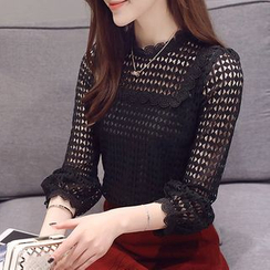 Rosehedge - 3/4 Sleeve Lace Top