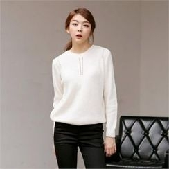 MAGJAY - Pointelle Knit Top