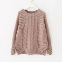 Meimei - Ribbed Knit Top