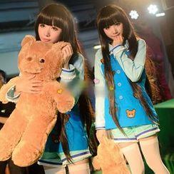 Cosgirl - Heaven's Memo Pad Shionji Yuuko Cosplay Costume Set