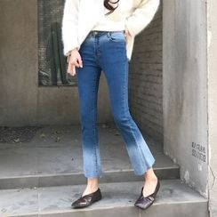 Velero - Gradient Wide Leg Jeans