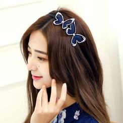 Lady Queen - Rhinestone Butterfly Hair Band