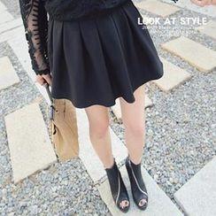 REDOPIN - Inset Skirt Shorts
