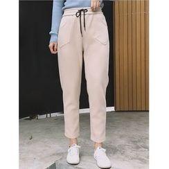 Oaksa - Cropped Harem Pants