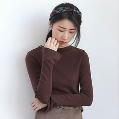 ELLY - Boatneck Long-Sleeve T-Shirt