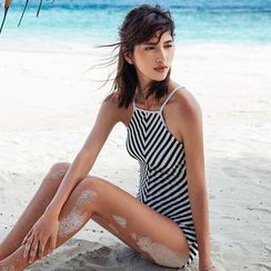 Zeta Swimwear - Striped Swimsuit
