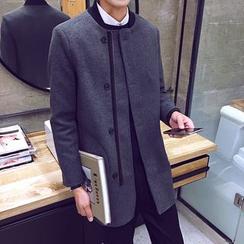 YONDER - Stand Collar Zip Coat
