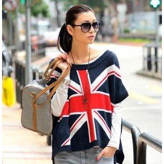 59 Seconds - Union Jack Oversized Sweater