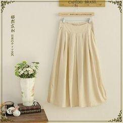 Storyland - Pleated Long Skirt