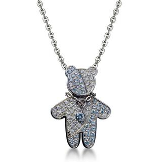 Kenny & co. - Birthday Kenny Bear Necklace - Jun (Pearl)