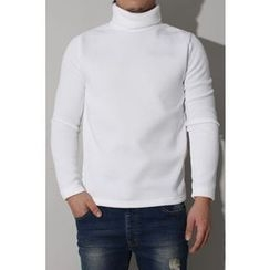 Ohkkage - Turtle-Neck Top