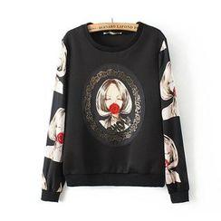 Ainvyi - Printed Sweat Shirt