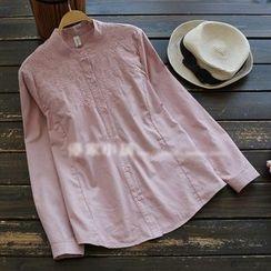 YOYO - Embroidered Shirtdress