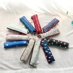 三木青禾 - 印花三折叠雨伞