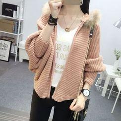 Hibisco - Hooded Knit Jacket