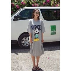 BBORAM - Mickey Mouse T-Shirt Dress