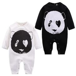 Madou - Panda Print One-Piece
