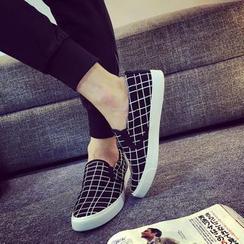 Solejoy - 格纹轻便鞋