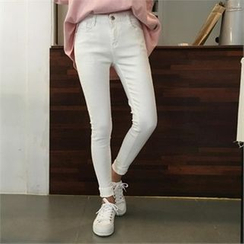 QNIGIRLS - Colored Skinny Pants