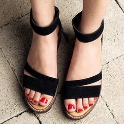 MIAOLV - Tassel Accent Sandals