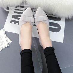 Pastel Pairs - 蝴蝶结平底鞋