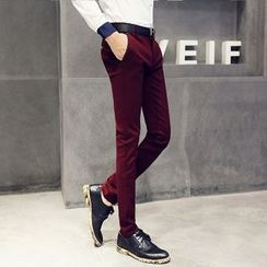 Mitouomo - Slim-Fit Dress Pants