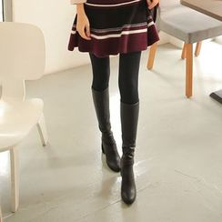 Cherryville - Faux-Leather High-Heel Tall Boots