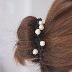 Jael - Faux Pearl Hair Tie