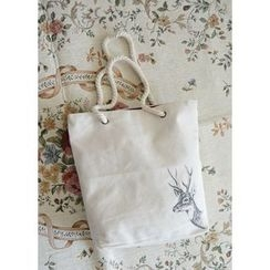 Bags 'n Sacks - Rope Handle Canvas Tote