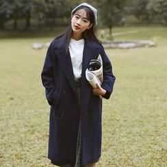 Sens Collection - 平驳领长款大衣