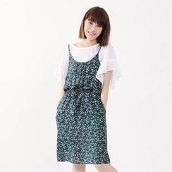 Tokyo Fashion - Floral A-Line Dress