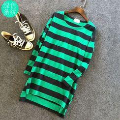 Grainie - Striped Long-Sleeve Tunic