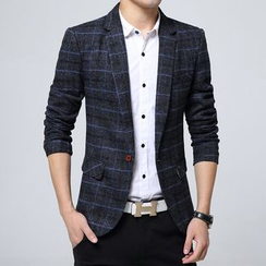 Cipher - Plaid Blazer