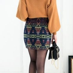 Loverac - Patterned Skirt