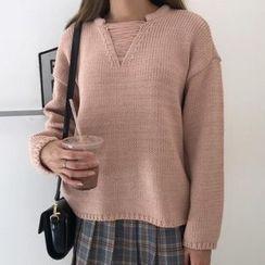 Dute - Drop Shoulder Sweater