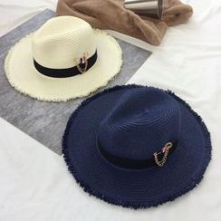 Pompabee - Fray Straw Hat