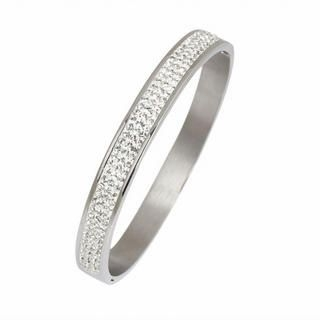 Menku - Rhinestone Bangle