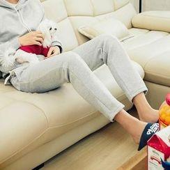 MEOSIDDA - Brushed-Fleece Lined Sweatpants
